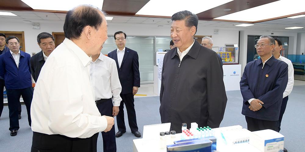 Presidente Xi inspeciona cidades em Shandong, no leste da China