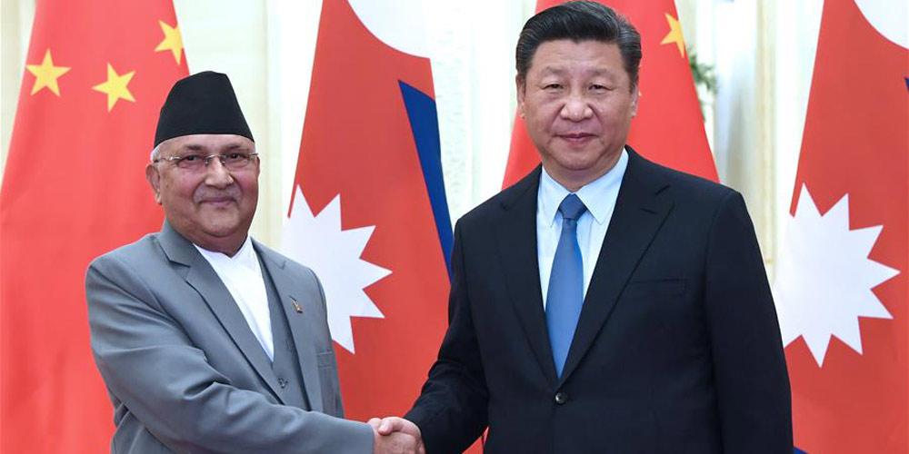 Xi diz que China fortalecerá cooperação de benefício mútuo com Nepal