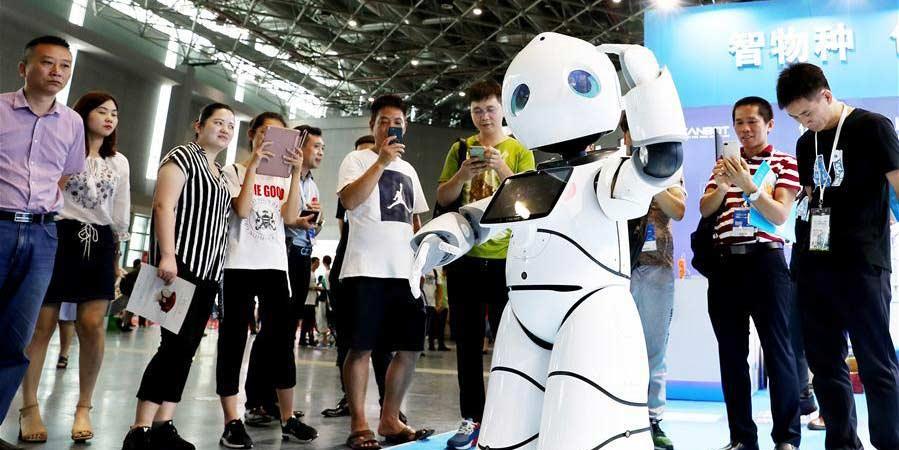 Destaques da Mostra Internacional de Robôs da China 2018 em Shanghai