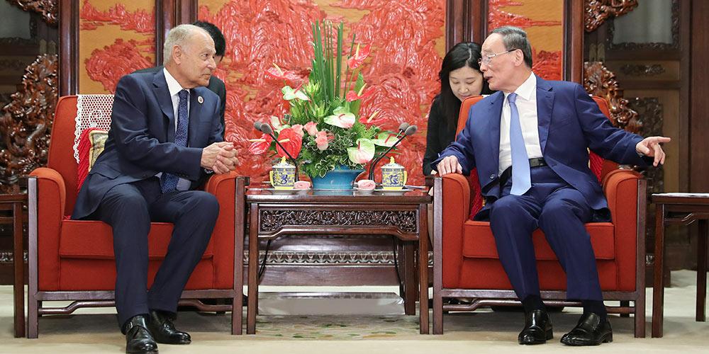 Vice-presidente da China se encontra com chefe da Liga Árabe e ministro do Egito