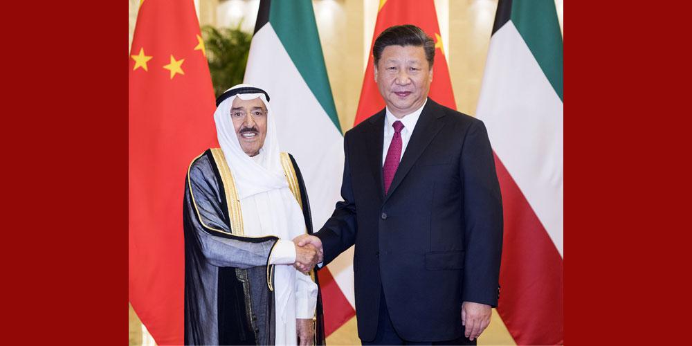 China e Kuait concordam em estabelecer parceria estratégica