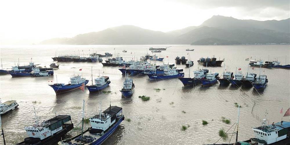 Tufão Maria deve atingir Taiwan, Fujian, Jiangxi e parte de Zhejiang
