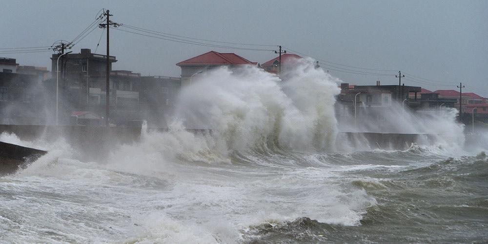 Tufão Maria atinge Fujian, no sudeste da China