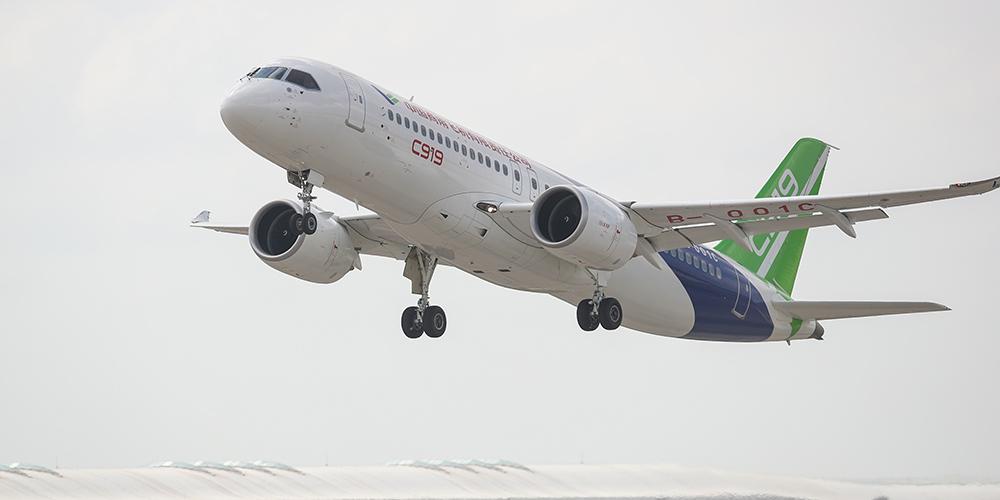 Projeto de grande avião chinês entra em fase de teste de voo intensivo