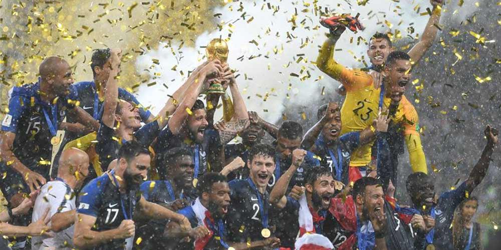 França derrota a Croácia e ganha o título da Copa do Mundo de 2018