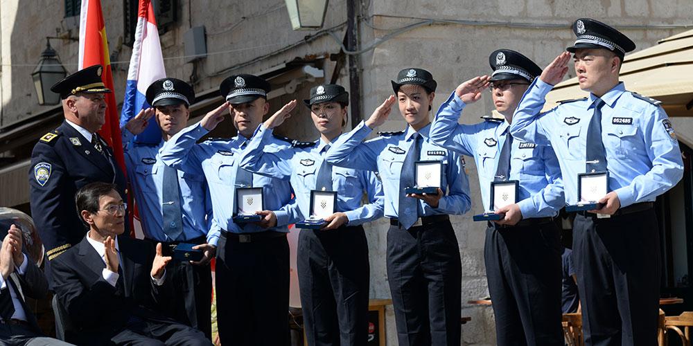 Inicia patrulha conjunta da China e Croácia em Dubrovnik