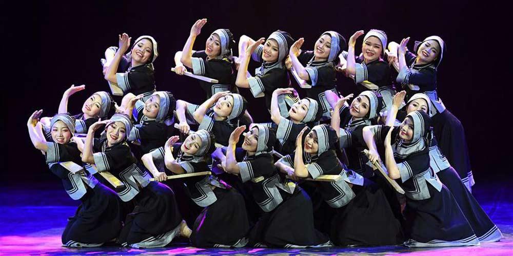 12ª Exposição Nacional de Dança realizada em Kunming