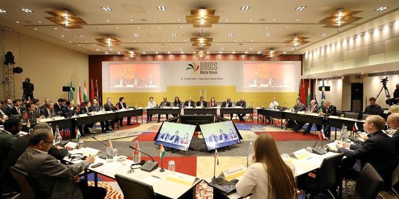 Líderes de imprensa do BRICS reúnem-se para aumentar cooperação