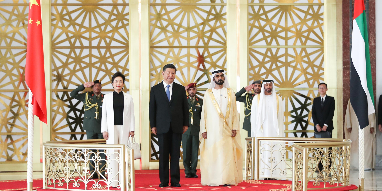Presidente chinês chega a Abu Dhabi para visita de Estado aos EAU
