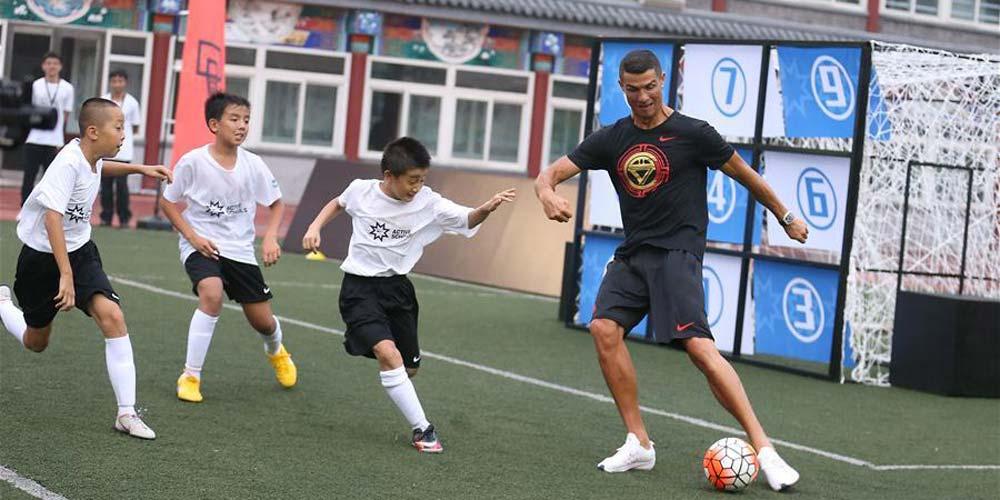 Cristiano Ronaldo reacende frenesi de futebol na China após Copa do Mundo
