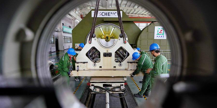 Galeria: Empresa de refabricação a laser em Tangshan, província de Hebei, no norte da China