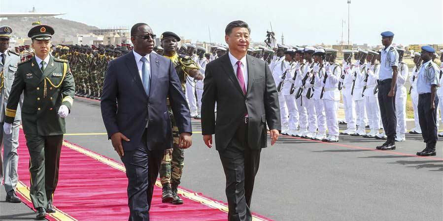 Presidente chinês Xi chega ao Senegal para visita de Estado