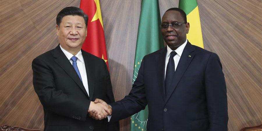 Presidentes chinês e senegalês prometem criar um melhor futuro para as relações bilaterais