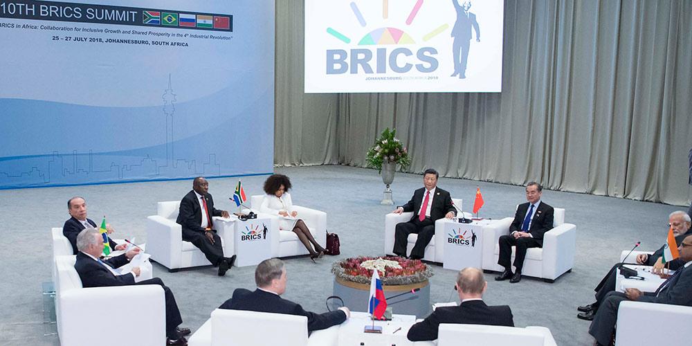 """Presidente chinês pede maior cooepração do BRICS na segunda """"Década Dourada"""""""