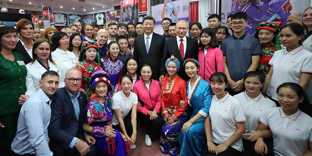 Xi e Putin pedem promoção da amizade entre os jovens chineses e russos