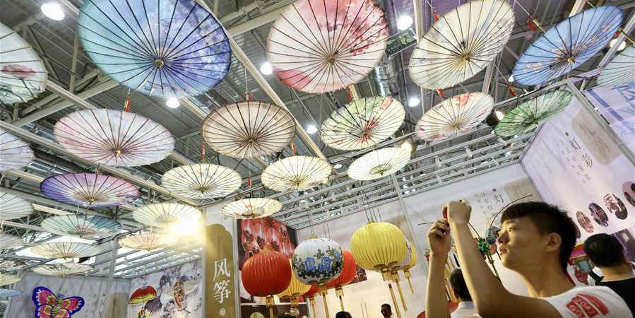 5ª Exposição de Heranças Culturais Imateriais da China abre em Jinan
