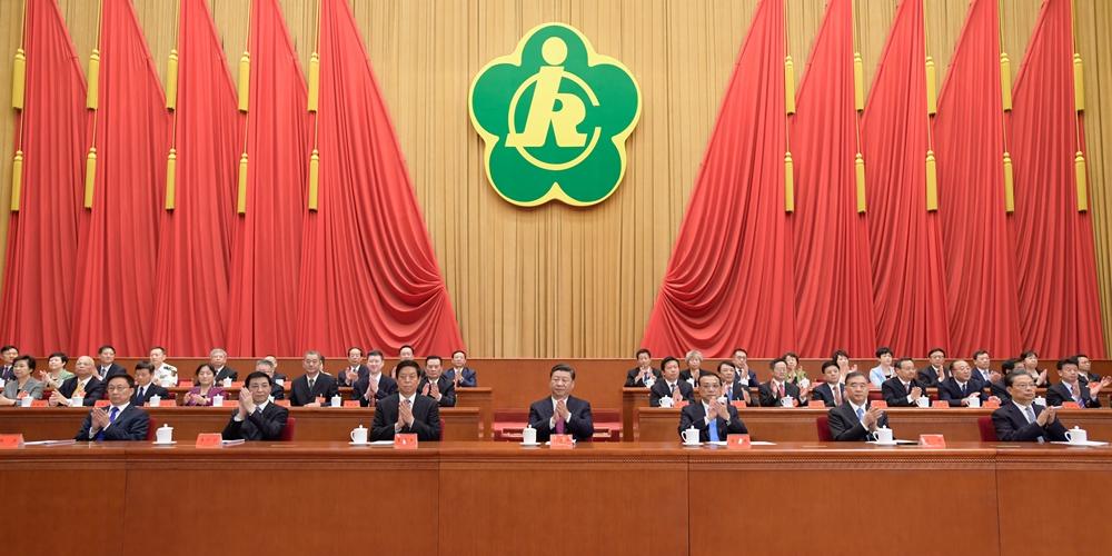 Congresso nacional da Federação Chinesa de Portadores de Deficiência é inaugurado