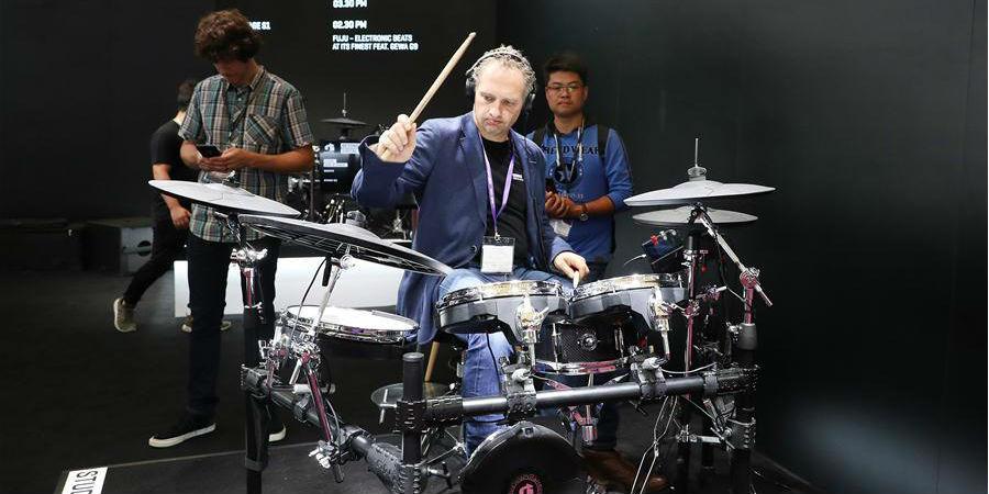 """Feira de instrumentos """"Music China"""" 2018 abre em Shanghai"""