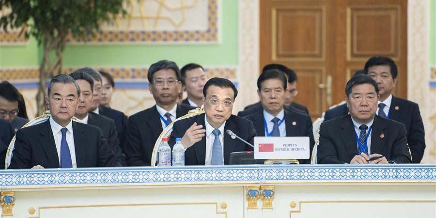 Premiê chinês promete cooperar mais em capacidade de produção com membros da Organização de Cooperação de Shanghai