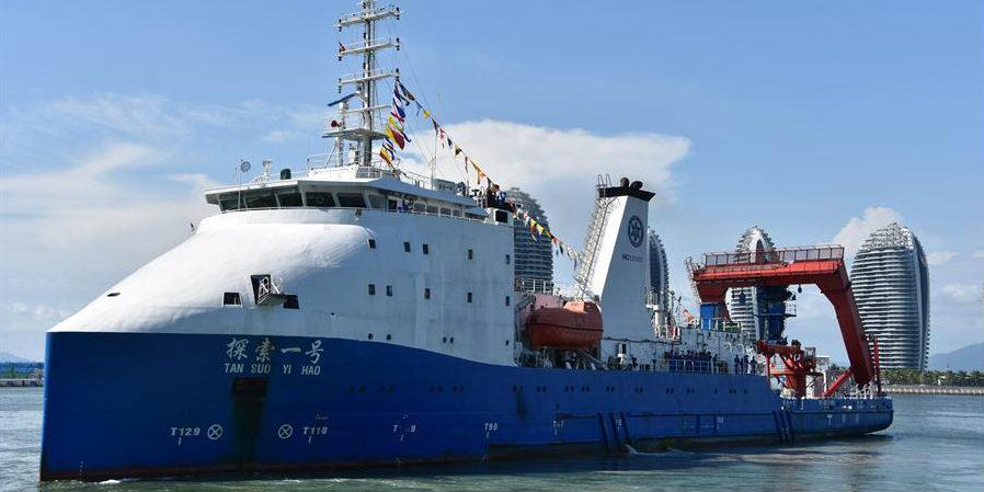 China conclui missão de pesquisa em águas profundas na Fossa das Marianas