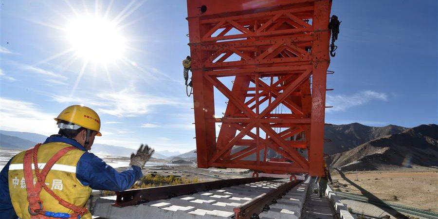 Galeria: Construção da ferrovia Sichuan-Tibet