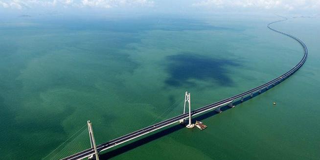 Galeria: Ponte Hong Kong-Zhuhai-Macau