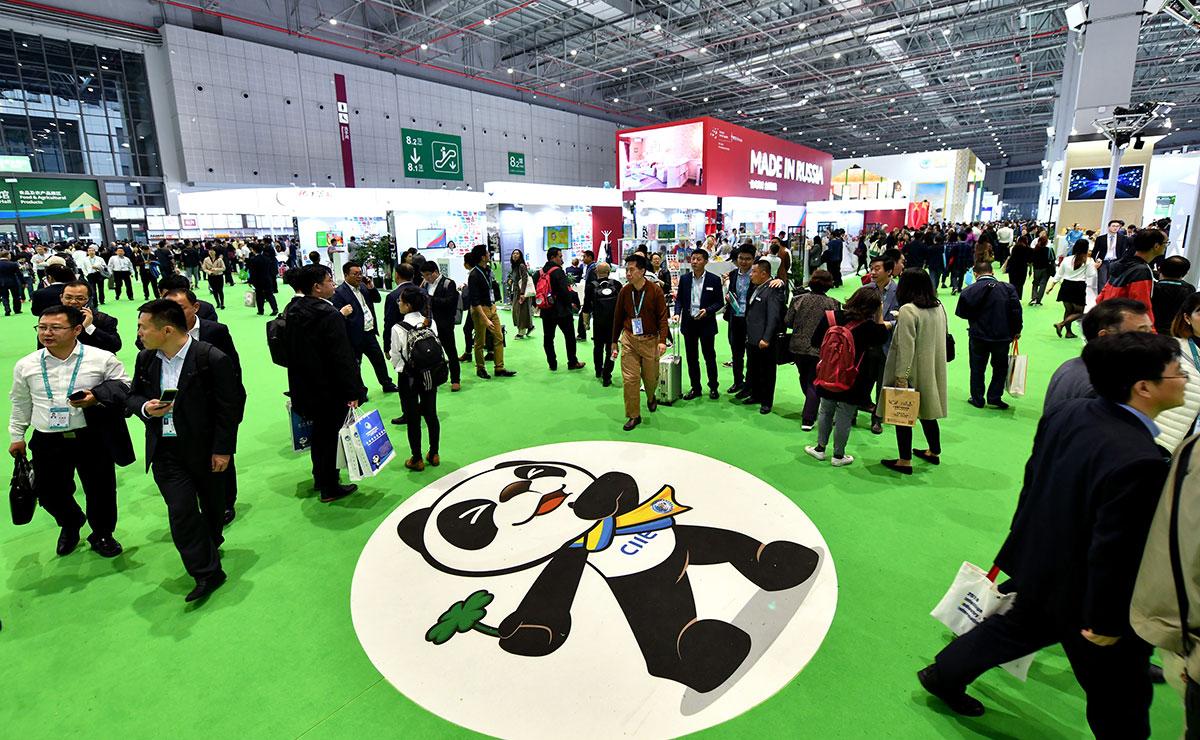 Mais de 3.000 empresas de mais de 130 países e regiões participam da CIIE