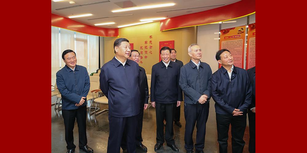 Xi pede, durante inspeção, impulsionar reforma e abertura e elevar competitividade de Shanghai