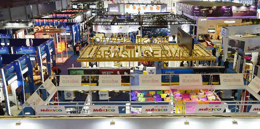 1ª exposição de importação da China soma US$ 57,83 bilhões em acordos de intenção de compra