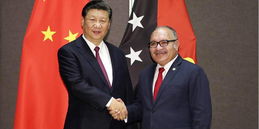 China e Papua-Nova Guiné estabelecem parceria estratégica abrangente