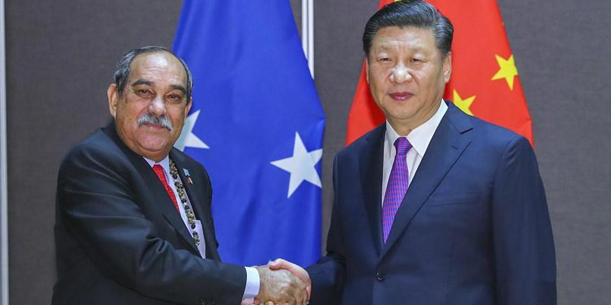Xi reúne-se com líderes das nações insulares do Pacífico para maior cooperação na Iniciativa do Cinturão e Rota