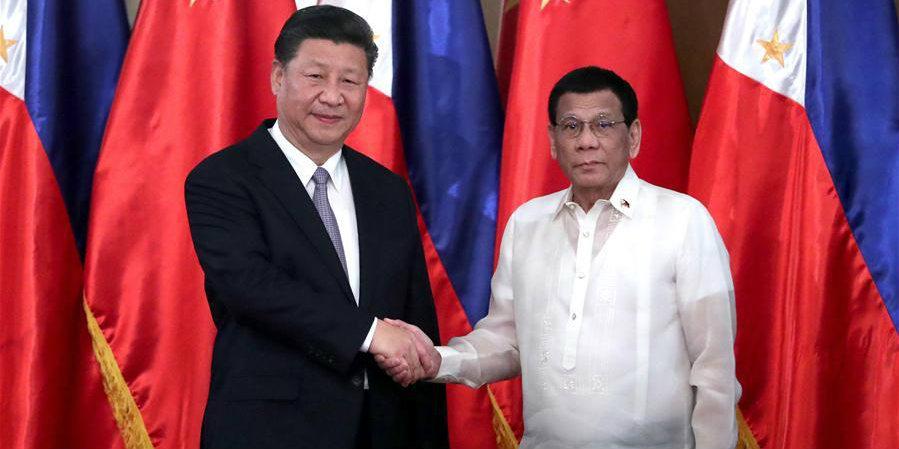 China e Filipinas concordam em elevar laços e avançar juntas a construção do Cinturão e Rota