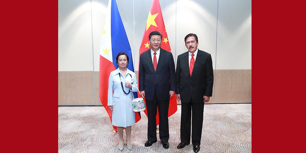 China e Filipinas concordam em fortalecer intercâmbios legislativos