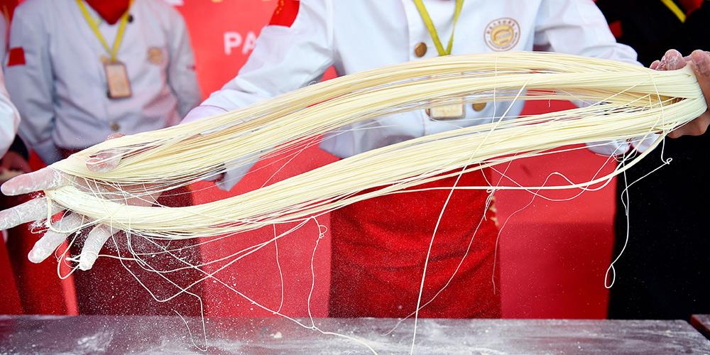 Cozinheiros participam de competição de habilidades culinárias em Hebei