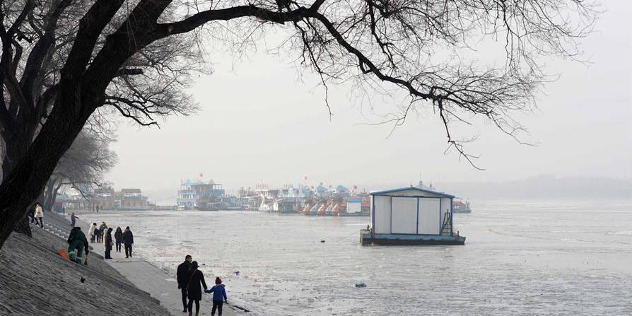 Fotos: Rio Songhua congelado em Harbin