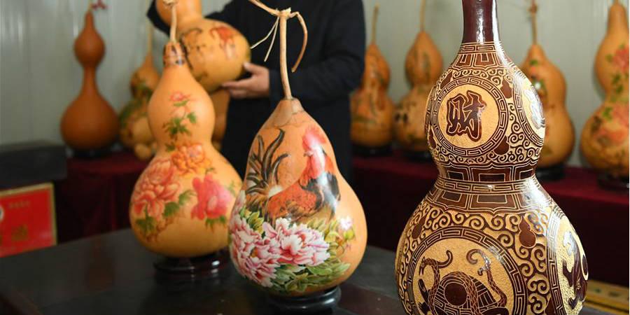 Fotos: Artesanatos de cabaça produzidos por Wang Guowei em Liaoning
