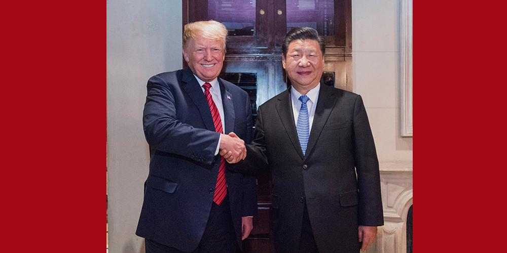 Xi e Trump se reúnem em Buenos Aires