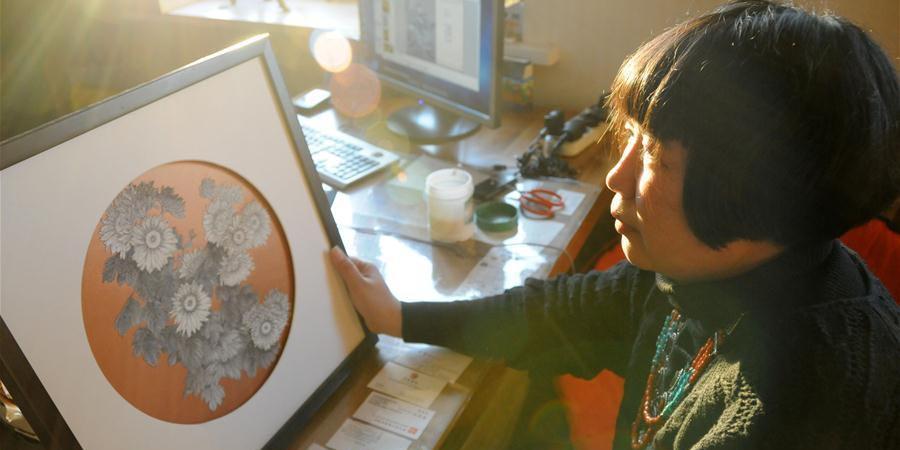 Zhang Lin: Herdeira do artesanato de pele de peixe em Harbin
