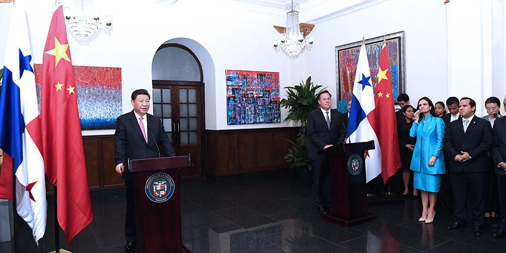 Xi pede maior cooperação empresarial com o Panamá