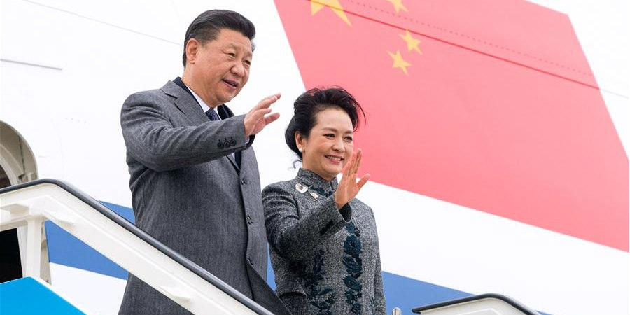 Presidente chinês chega a Portugal para visita de Estado