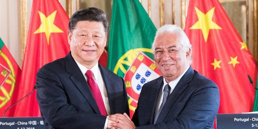 China e Portugal prometem impulsionar conjuntamente a construção do Cinturão e Rota