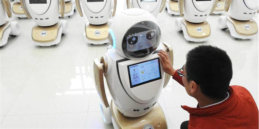 Lianyungang, em Jiangsu, impulsiona desenvolvimento da indústria de robôs