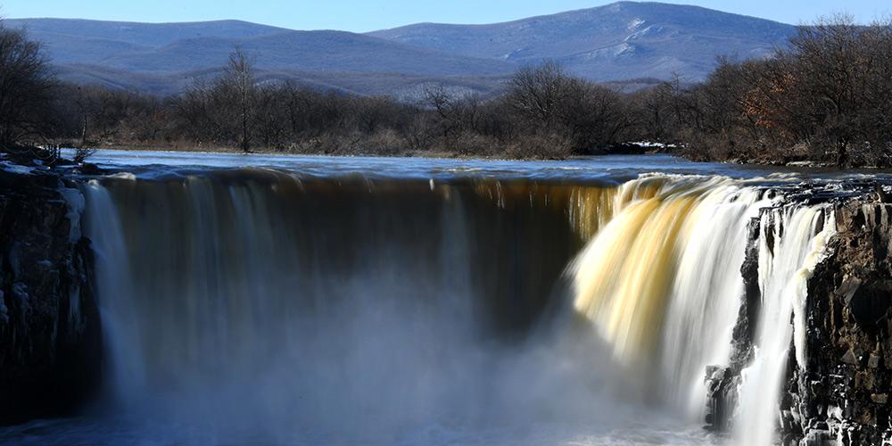 Galeria: Cachoeira Diaoshuilou em Heilongjiang