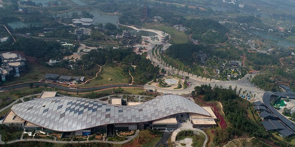 12ª Exposição Internacional de Jardim da China realiza-se em Nanning, sul da China