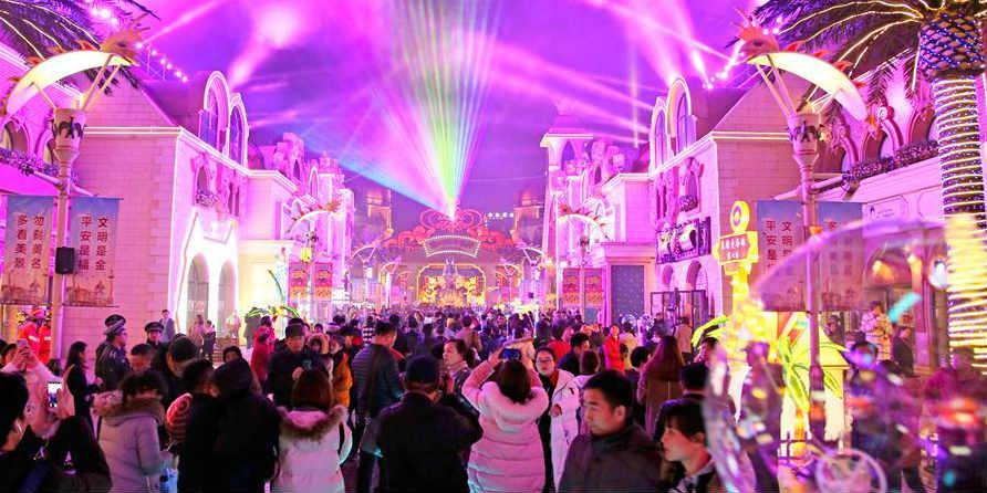 Fotos: Festival da Laterna de Changzhou realizado em Jiangsu no leste da China
