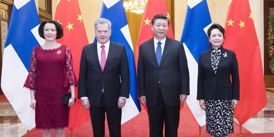 China e Finlândia prometem escrever novo capítulo nas relações bilaterais
