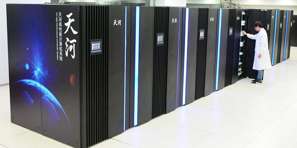 China testa protótipo de supercomputador de exaescala da nova geração