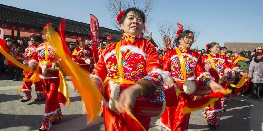Festival de pesca é realizado em Hai'an, no leste da China