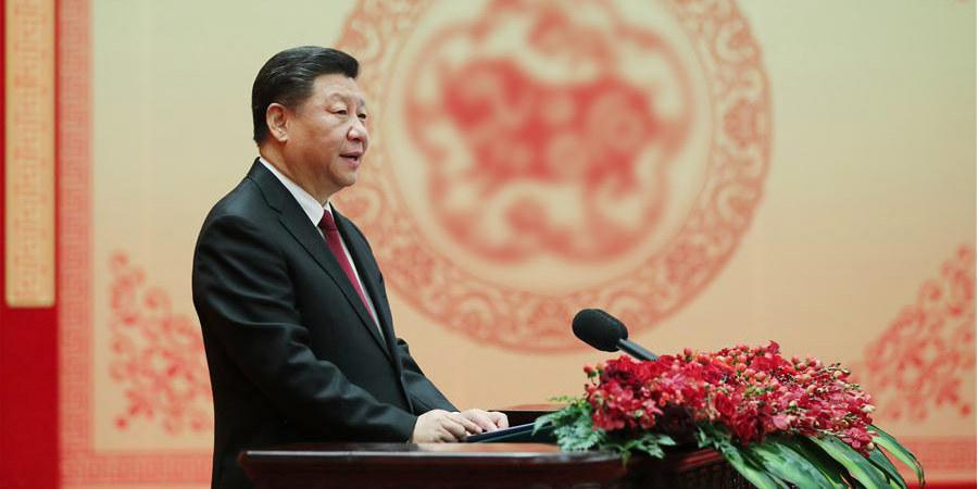 Xi estende saudações da Festa da Primavera e expressa confiança no futuro