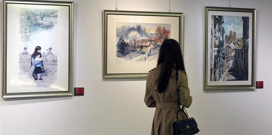 Exposição de arte em Lisboa comemora 40º aniversário do estabelecimento da RAE de Macau
